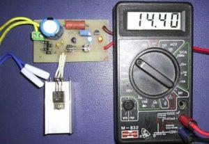 Зарядное устройство для гелевого аккумулятора самодельное