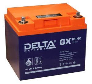 GX12-40: гелевый аккумулятор
