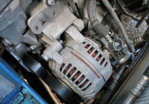 Демонтаж и установка генератора