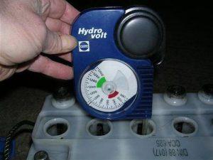 Измерение плотности электролита