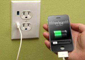 Зарядка айфона