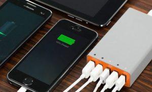 Зарядка телефонов