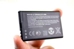 Батарейка телефона