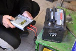 Зарядка гелиевого аккумулятора