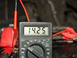 Измерение мультиметром