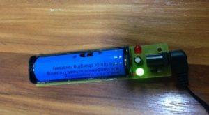 Аккумулятор Bailong BL-18650 - зарядка