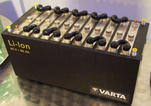 Литий-ионный аккумулятор для автомобиля