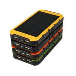 Power Bank с солнечной панелью