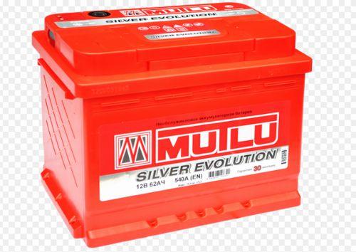 MUTLU Silver Evolution 62 А/ч