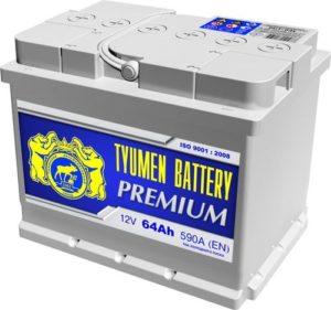 Tyumen Battery PREMIUM 6СТ-64L