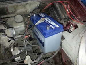 Аккумулятор в автомобиле