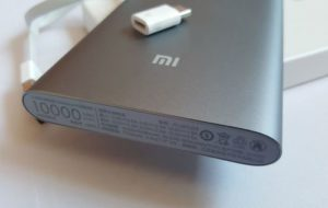 Xiaomi Mi PowerBank с емкостью 10000 mAh