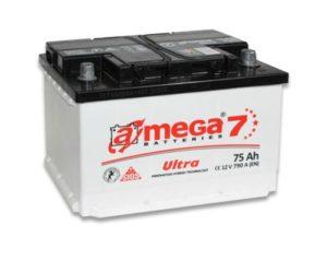 Аккумулятор A-Mega Premium 6CT 75Ah 690A