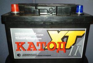 Аккумуляторы марки КАТОД