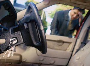 Ключи остались в машине