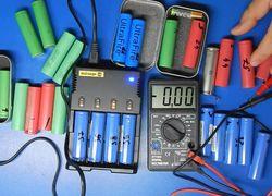 Тест аккумуляторов 18650