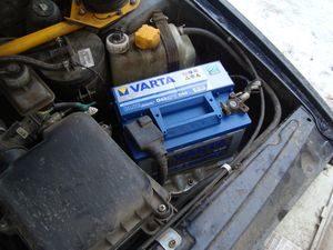 АКБ Varta в машине