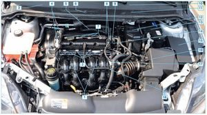 Конструкция машины Форд Фокус