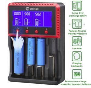 Никель-металлогидридные батареи на зарядке