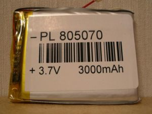 Литий-полимерный аккумулятор Li-pol