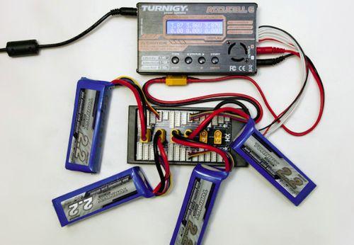 Параллельная зарядка LiPol аккумуляторов