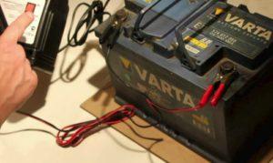Зарядка аккумулятора Varta