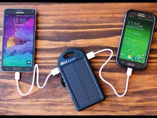 Power bank на солнечных батареях MyTab