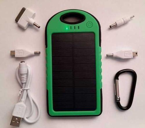 Power bank Solar Charger 20000 mAh на солнечных батареях