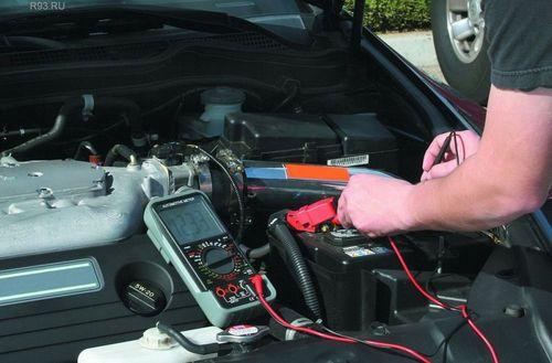 системе электрооборудования автомобиля