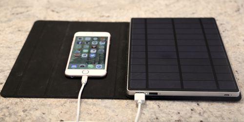 Премиальное солнечное зарядное устройство