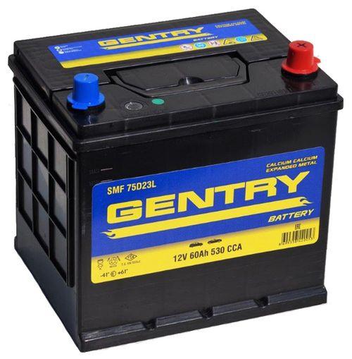 Аккумулятор Gentry 75D23L CMF 60 Ач