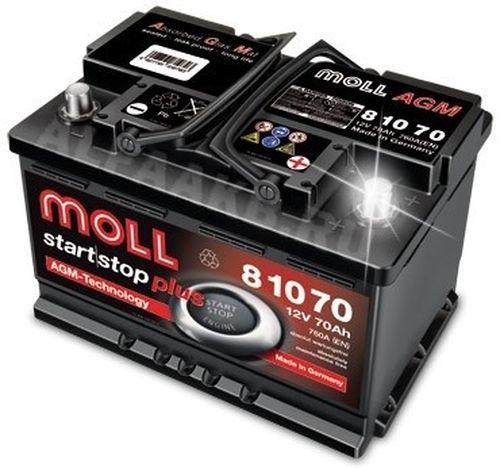 Аккумулятор Moll MG Standard