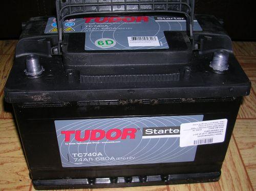 Tudor Starter 74 Ач (TC740 A)