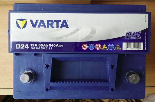 Аккумулятор VARTA D24