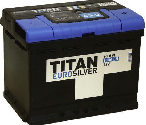Аккумулятор TITAN Eurosilver