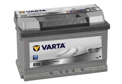 Varta Silver Dynamic E38