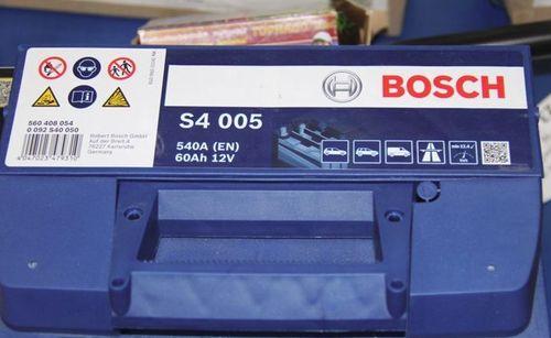 Bosch silver S4 005
